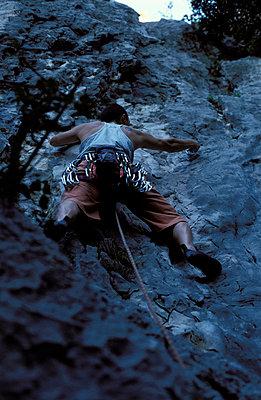 In der Felswand - p0810010 von Alexander Keller