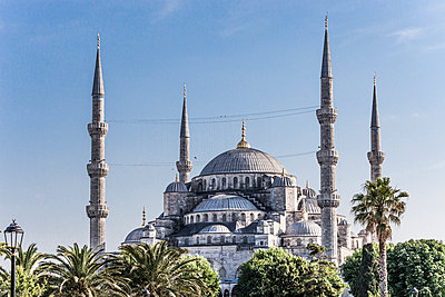 Sultan Ahmed Moschee - p253m1066024 von Oscar