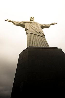 Jesus Christ the Redeemer statue - p300m884774 by Alejandro Moreno de Carlos