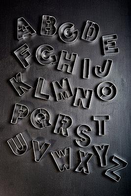 Alphabet - p451m1486647 von Anja Weber-Decker
