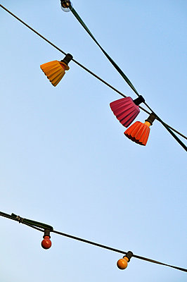 Lichterkette - p7150096 von Marina Biederbick