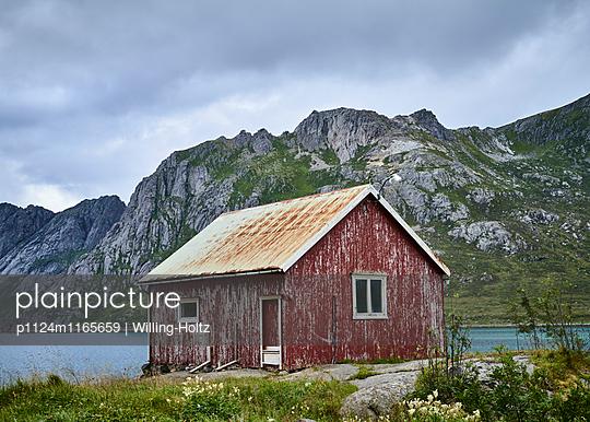 Hütte am Fjord - p1124m1165659 von Willing-Holtz