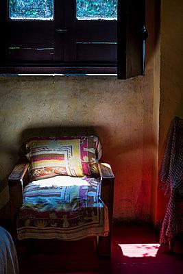 Armchair under a window - p1170m1573317 by Bjanka Kadic