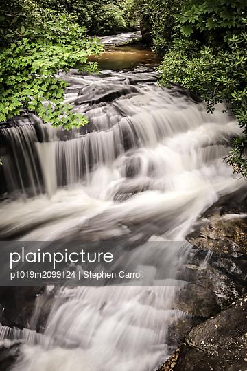 Wild creek - p1019m2099124 by Stephen Carroll
