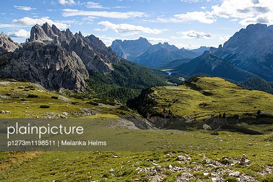 Aussicht in den Dolomiten - p1273m1198511 von melanka