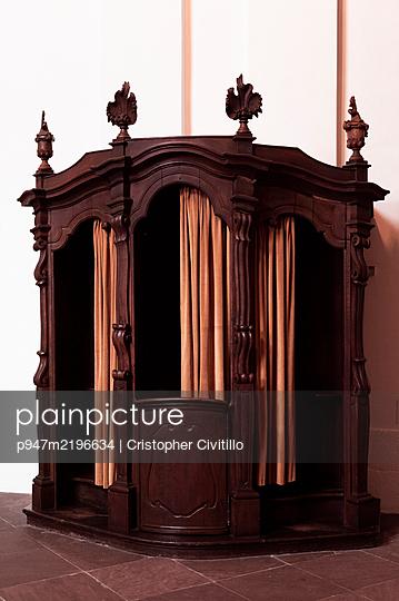 Confessional box - p947m2196634 by Cristopher Civitillo