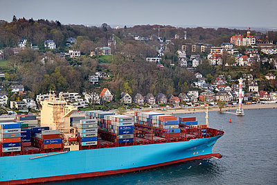 Container ship - p1099m882847 by Sabine Vielmo