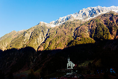 Church in the valley - p1177m2076550 by Philip Frowein