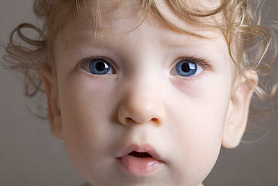 Portrait of a young boy - p3018771f by Vladimir Godnik
