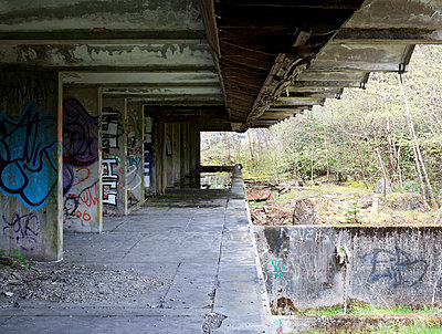 St.Peter's Seminary, Cardross. Grade A listed. Architects - Gillespie, Kidd & Coia (Andy McMillan & Isi Metzstein). Completed 1966.Closed 1980. - p855m908755 by Keith Hunter