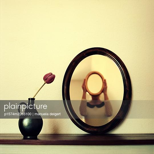 Self reflection - p1574m2285100 by manuela deigert