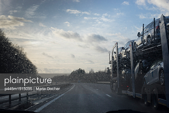 On the highway - p445m1515095 by Marie Docher