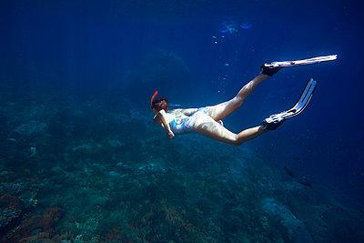 Snorkeling in Indian ocean - p1108m1118839 by trubavin