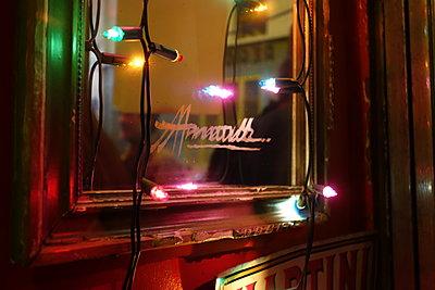 Mirror in nightclub - p1189m1218666 by Adnan Arnaout