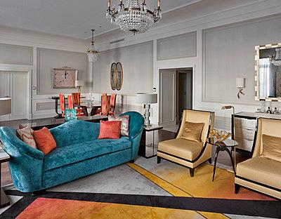 Russia, St. Petersburg, Belmond Grand Hotel Europe,Presidential Suite  - p390m2191561 by Frank Herfort