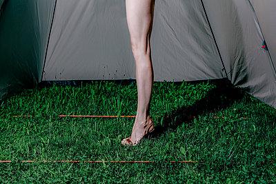 Muskulöses Frauenbein - p750m2109616 von Silveri