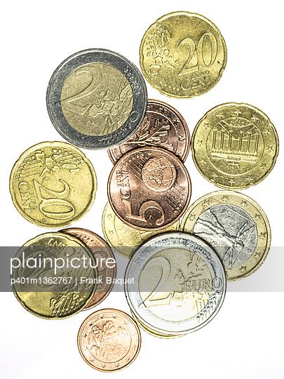 Euro Münzen - p401m1362767 von Frank Baquet