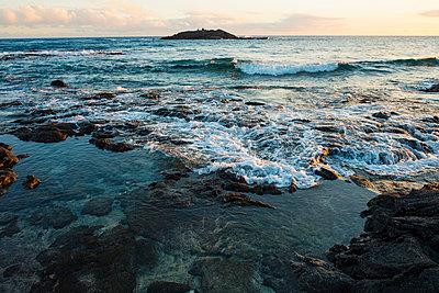 Halape Beach, Puna Coast Trail, Hawaii Volcanoes National Park, Hawaii Islands, USA - p343m2002726 by Joshua Rainey