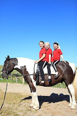 Cooles Trio - p045m1041982 von Jasmin Sander