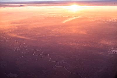 Riverscape - p1441m2028178 by Benjamin Zibner