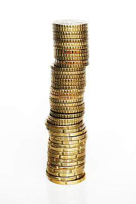 Stack of coins  - p450m1582956 by Hanka Steidle