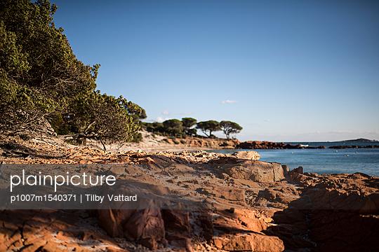 Stone beach - p1007m1540371 by Tilby Vattard