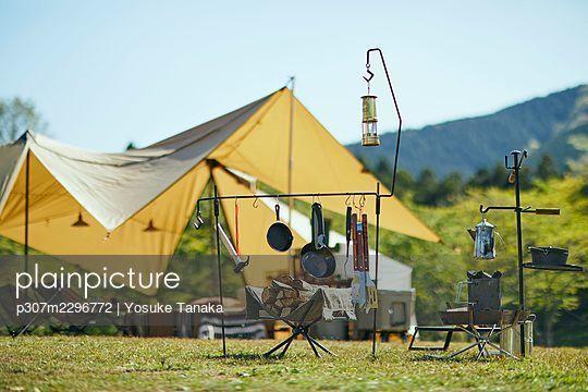 Camping - p307m2296772 by Yosuke Tanaka