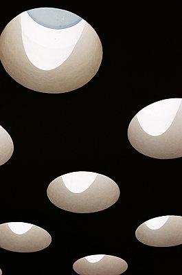 Skylights in Alvar Aalto library in Vyborg - p1063m1440264 by Ekaterina Vasilyeva