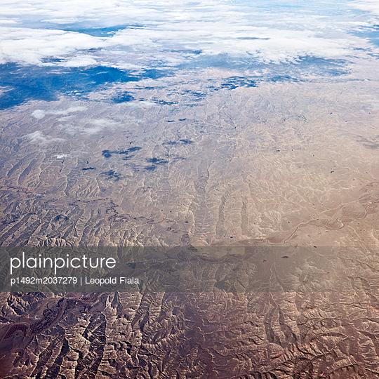 Australische Wüste Luftaufnahme - p1492m2037279 von Leopold Fiala