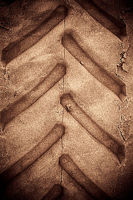 Tractor Tracks - p975m729270 by Hayden Verry
