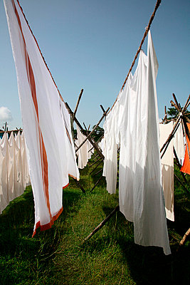 The washing is on the line - p1130321 by Lioba Schneider