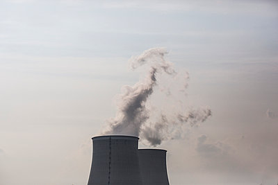 Nuclear Plant - p445m900322 by Marie Docher
