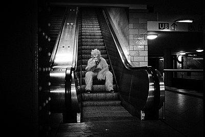 Berlin, U5 Alexanderplatz - p627m1035356 von Christian Reister
