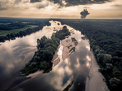 France, Loire landscape - p1402m2281030 by Jerome Paressant