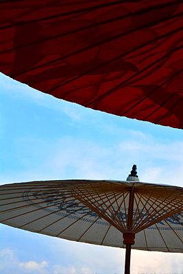 Asian parasols - p876m852018 by ganguin