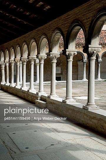 Arcades in monastery San Michele - p451m1159498 by Anja Weber-Decker