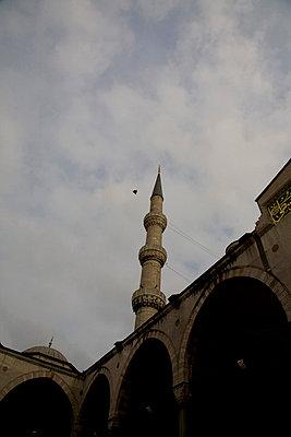 innenhof der blauen moschee - p6270141 von Chris Keller