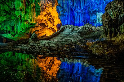 Hang Dau Go (Wooden stakes cave) Quang Ninh Province, Vietnam - p429m1054428f by PhotoStock-Israel