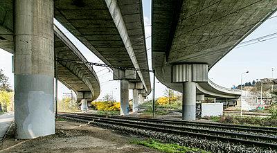 Concrete Flyover  - p1082m1564379 by Daniel Allan