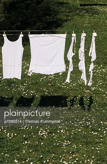 Weiße Wäsche - p1080314 von Thomas Kummerow