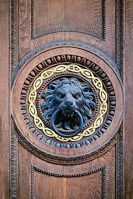 Historischer Türbeschlag - p1149m1474985 von Yvonne Röder