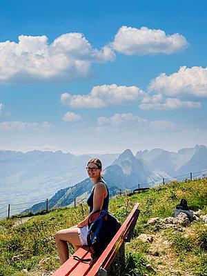 Rest on the summit - p382m2263615 by Anna Matzen