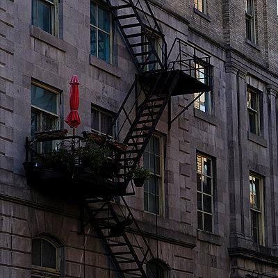 Fire escape - p1105m2086525 by Virginie Plauchut
