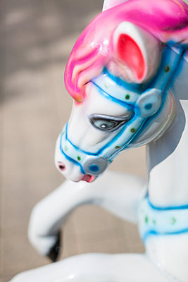 Carousel horse - p1293m1144122 by Manuela Dörr