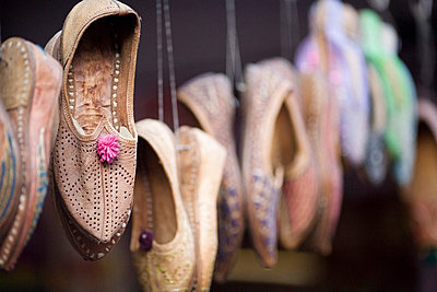 Shoes on display - p4428296f by Design Pics