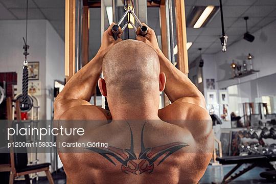 Bodybuilding - p1200m1159334 von Carsten Goerling