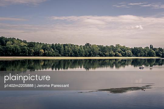 Frankreich, Kanu auf der Loire - p1402m2205888 von Jerome Paressant