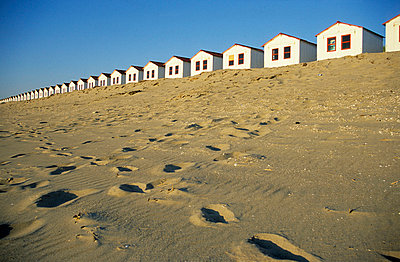Beach huts - p2680404 by M. Klippel