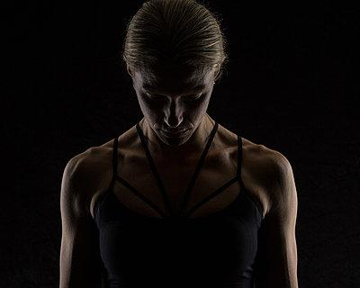 Sportlerin - p1367m1451367 von Teresa Walton
