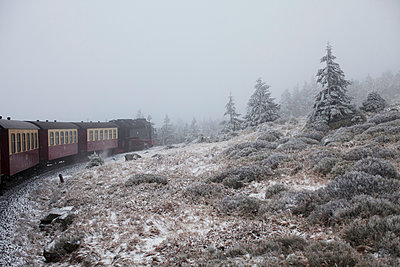 The Brocken railway - p906m1362791 by Wassily Zittel